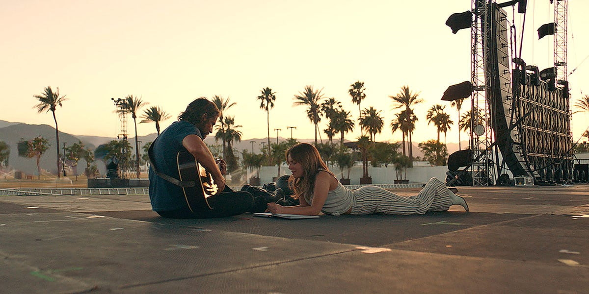 A Star is Born movie Bradley Cooper and Lady Gaga