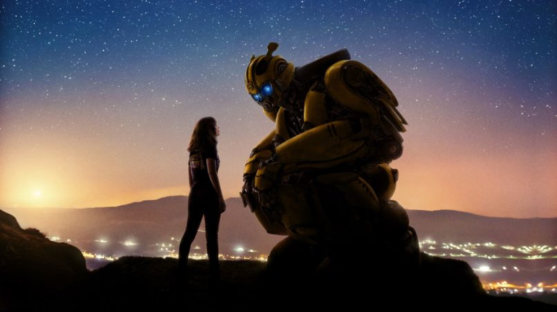 bumblebee movie wallpaper