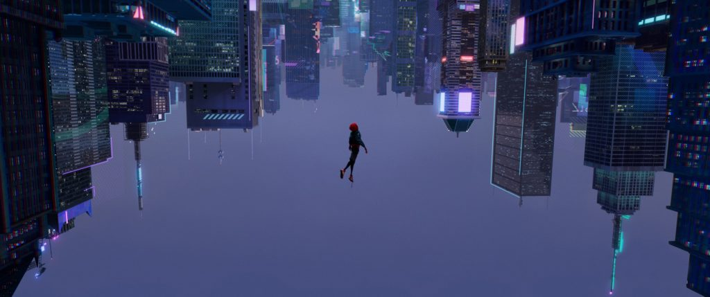 Spider-Man Into the Spider-Verse movie cool wallpaper