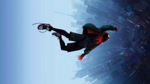 spider-man into the spider-verse wallpaper