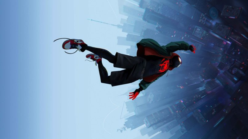 spider-man into the spider-verse wallpaper