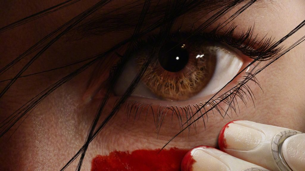 alita battle angel movie alita's eyes
