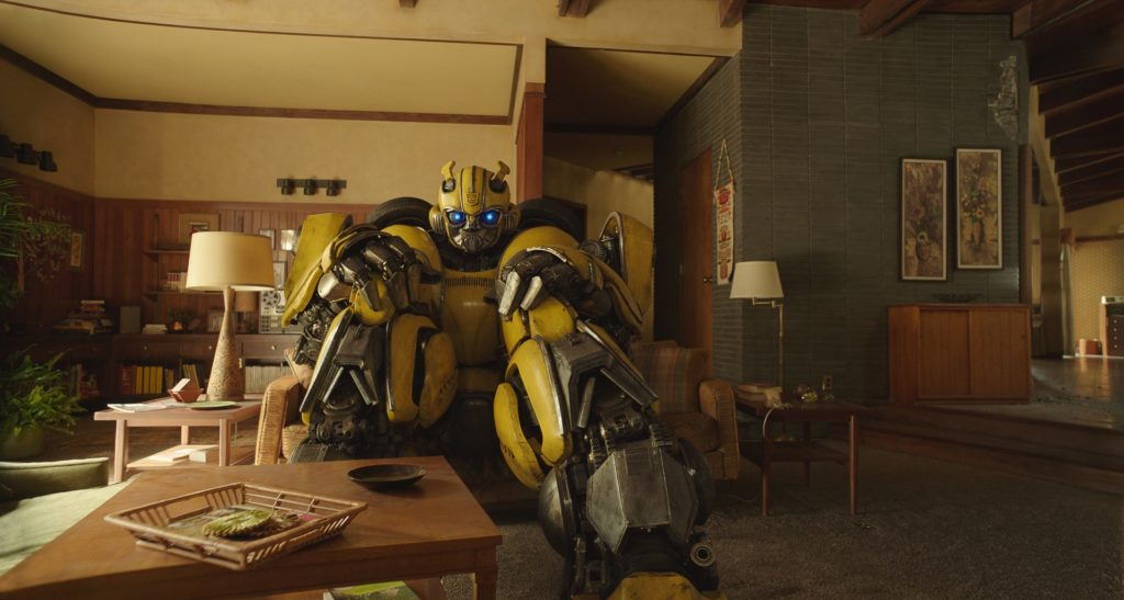 Bumblebee in the house