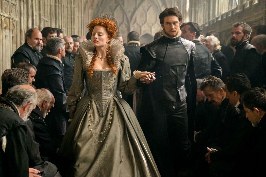 Margot Robbie and Joe Alwyn in Mary Queen of Scots