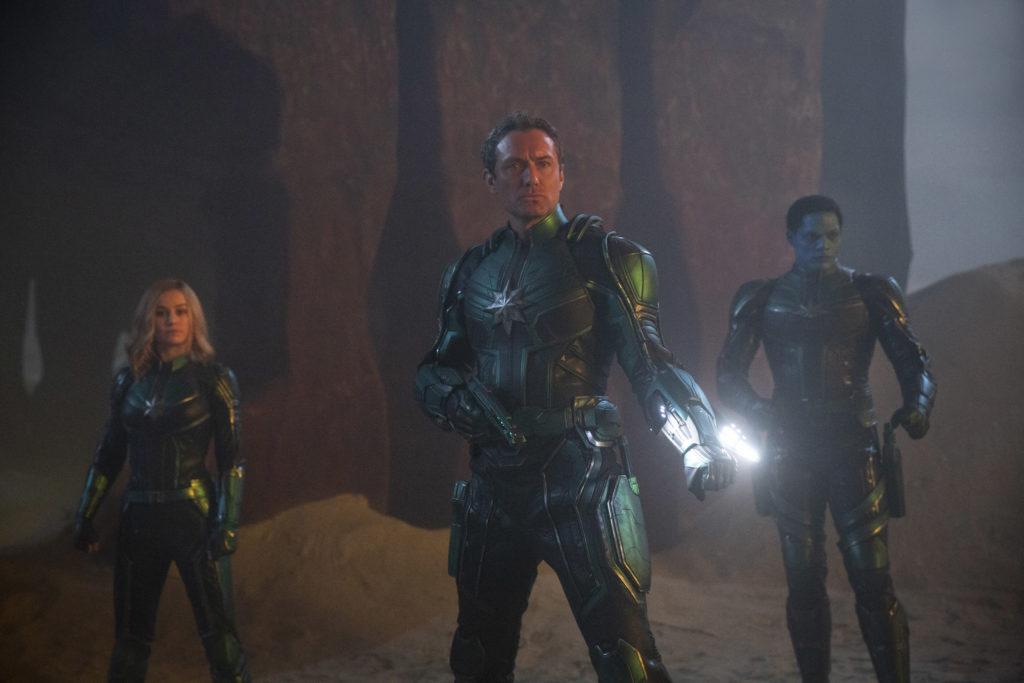 still from Captain Marvel movie