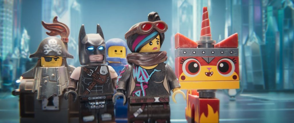 the lego movie 2: The second part movie still batman, lucy, unikitty