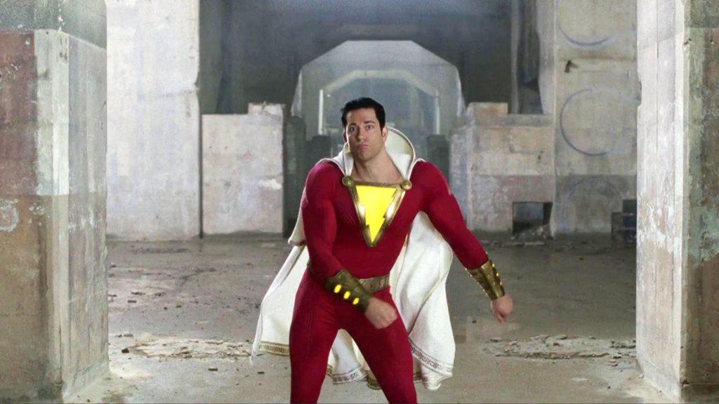 Shazam movie Zachary Levi