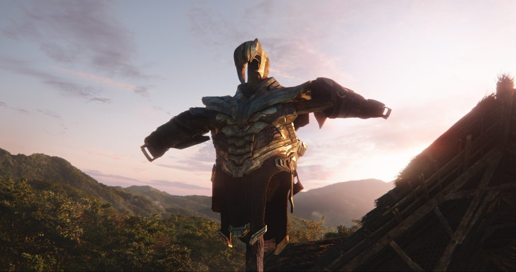 Thanos in Avengers Endgame movie