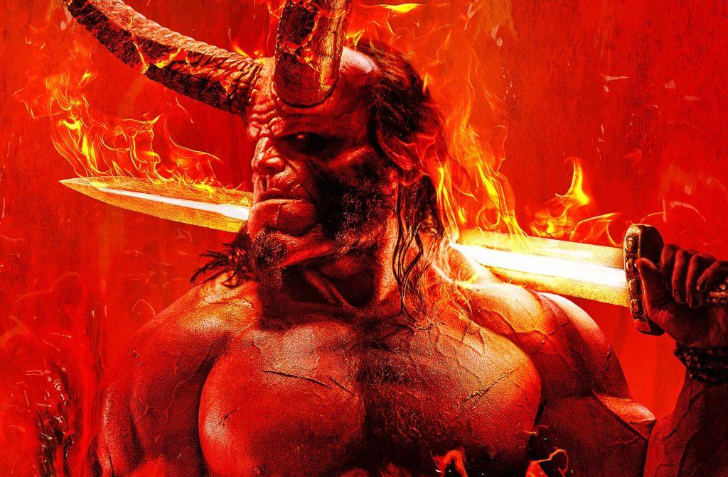 Hellboy in full horns