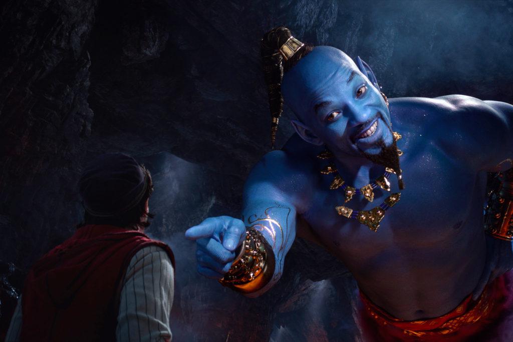 Genie in Aladdin movie