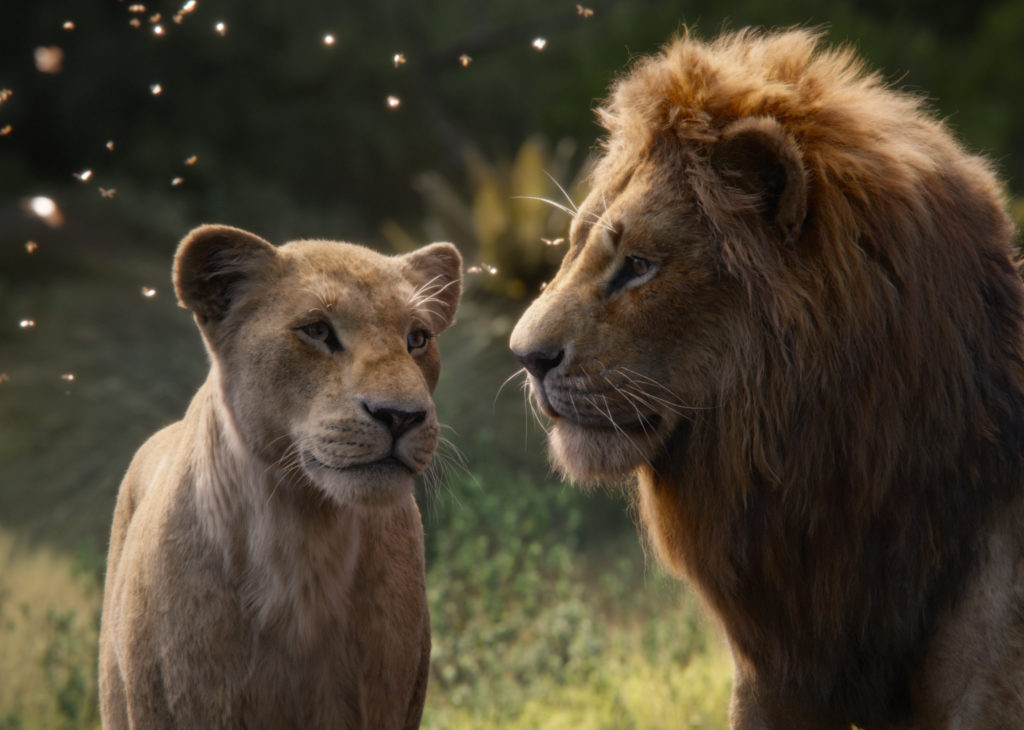 The Lion King simba and Nala