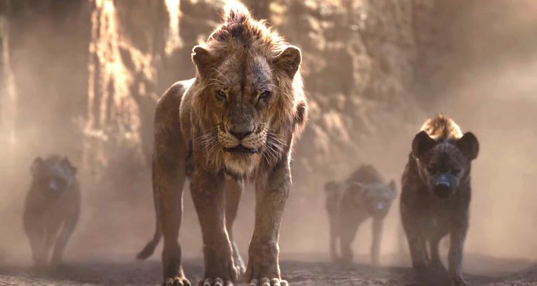 scar in the lion king movie