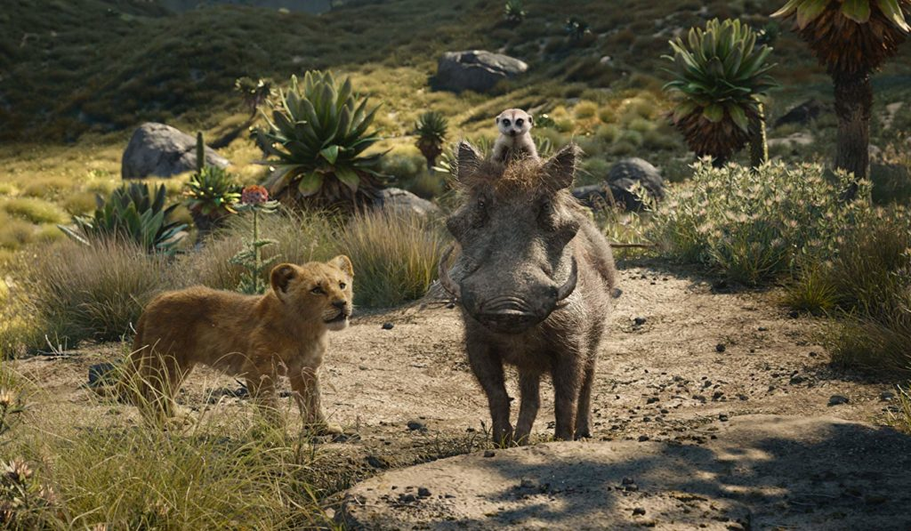 Timon and Pumbaa in The Lion King movie