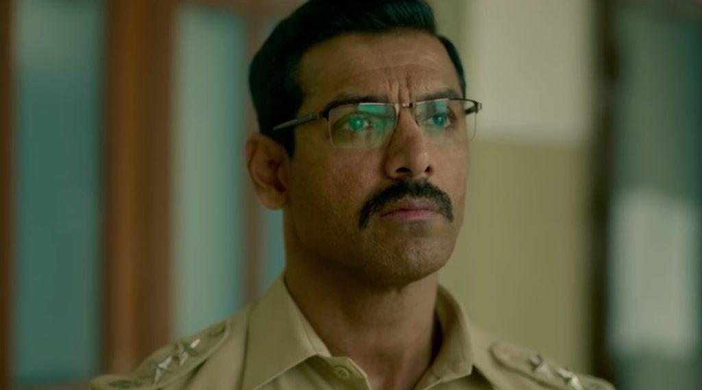 John Abraham as DCP Sanjeev Kumar Yadav in Batla House