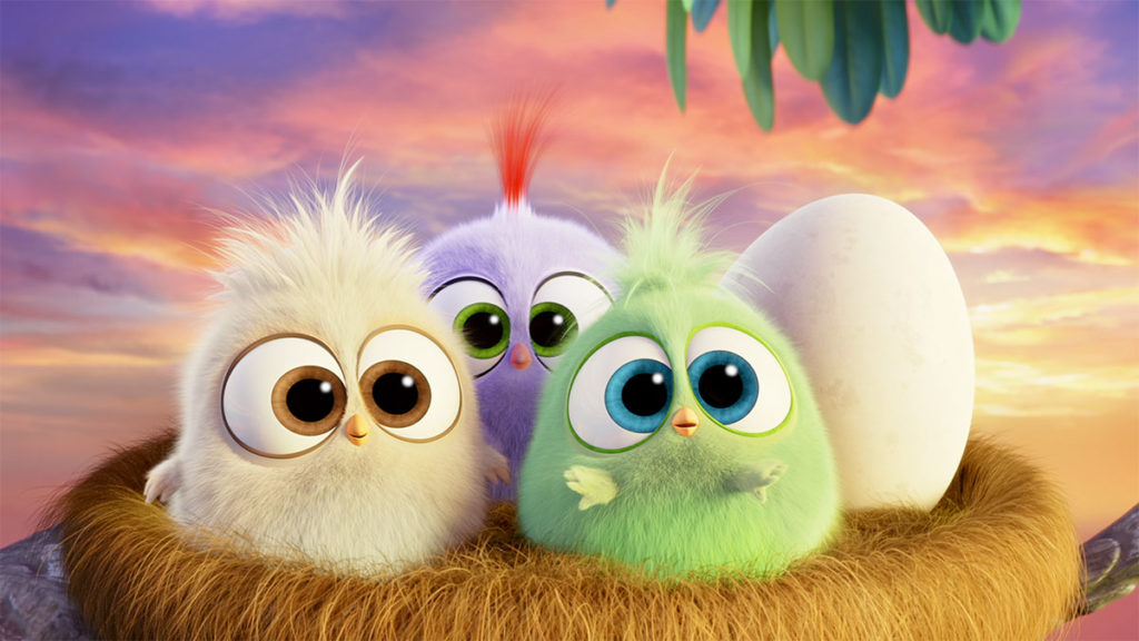 the hatchlings in the angry birds movie 2