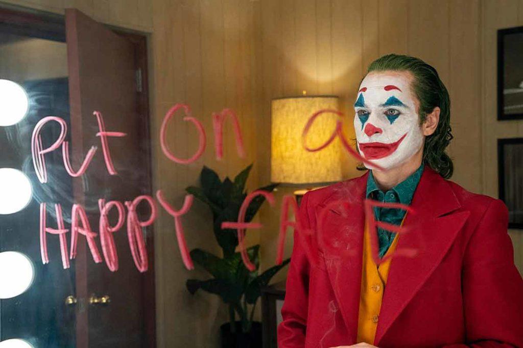 put on a happy face on mirror Joker