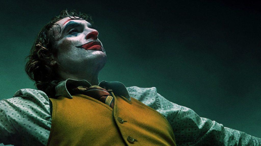 Joker movie still of Joaquin Phoenix