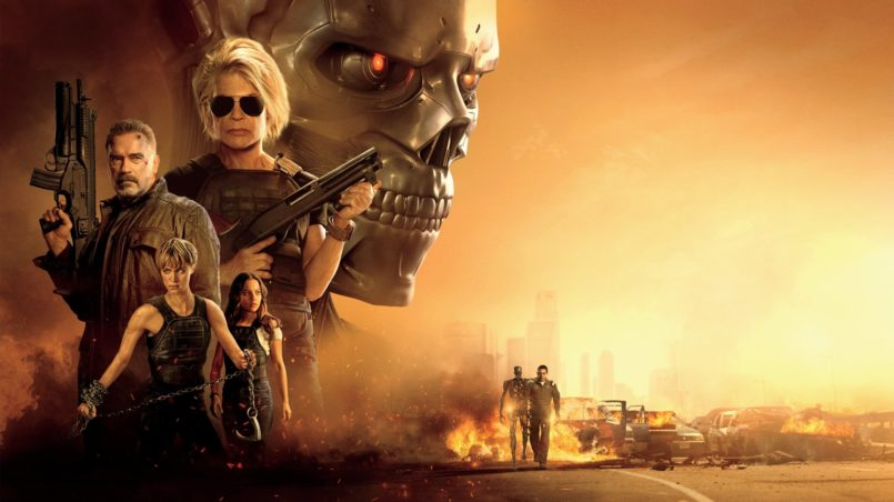 Terminator Dark Fate Movie Wallpaper