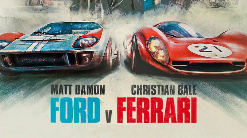 Ford v Ferrari movie wallpaper