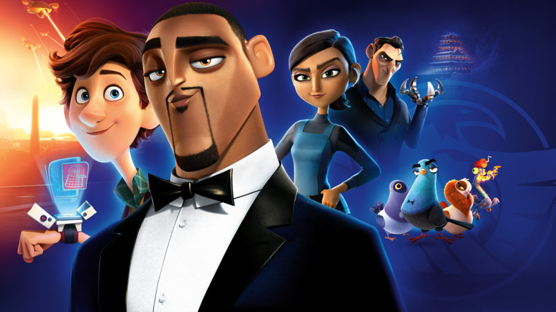 spies in disguise movie wallpaper