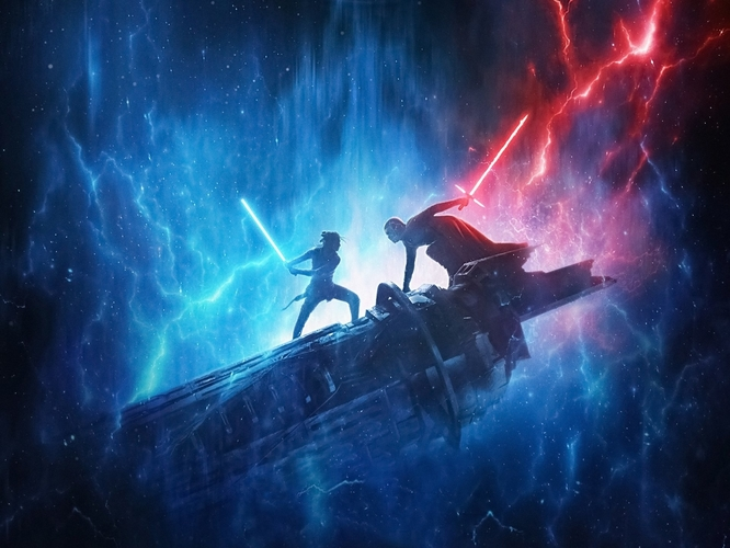 Star Wars Episode IX - The Rise of Skywalker Movie